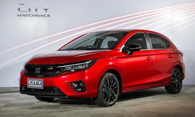 Honda City hatchback giá từ 19.800 USD