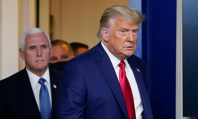 Trump 'âm thầm' thừa nhận thất bại bầu cử