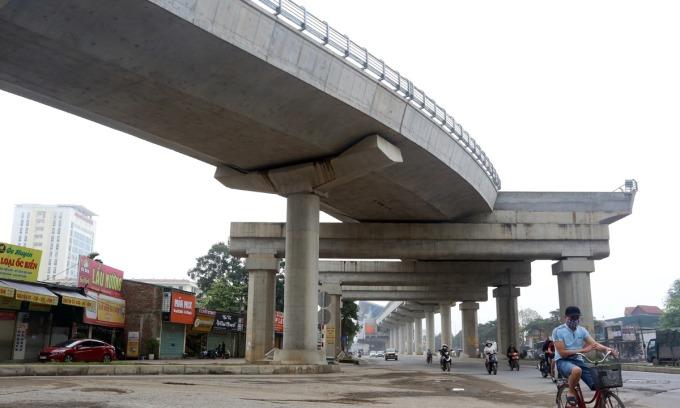 Nhiều sai phạm ở tuyến metro Nhổn - ga Hà Nội