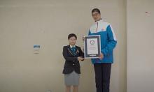 Nam sinh cao nhất thế giới