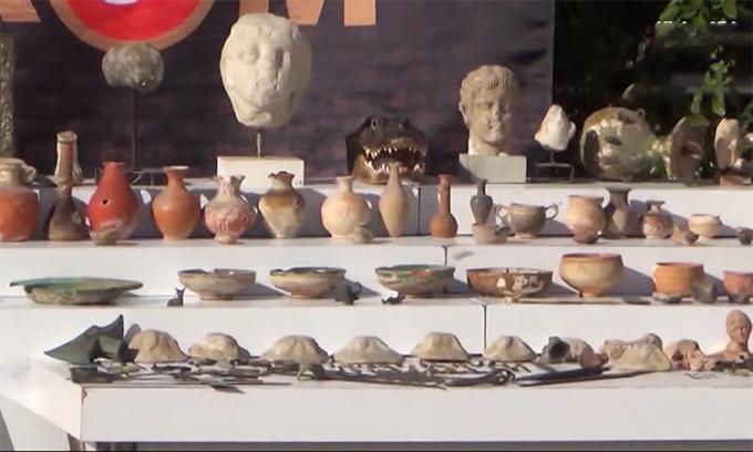 Thổ Nhĩ Kỳ phá vụ buôn lậu hàng trăm hiện vật lịch sử