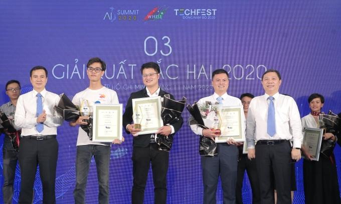 Ba dự án thắng giải ứng dụng trí tuệ nhân tạo TP HCM