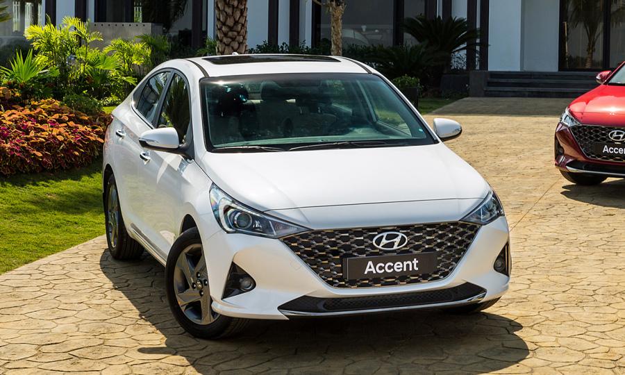 Hyundai Accent 2021 giá 426 triệu, rẻ hơn Vios 44 triệu đồng - VnExpress