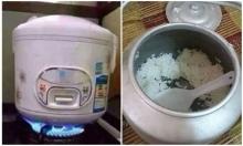 Loạt thảm họa khi nấu cơm của 'hội ghét bếp'