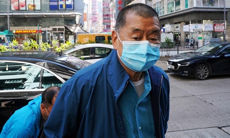 Trùm truyền thông Hong Kong bị giam