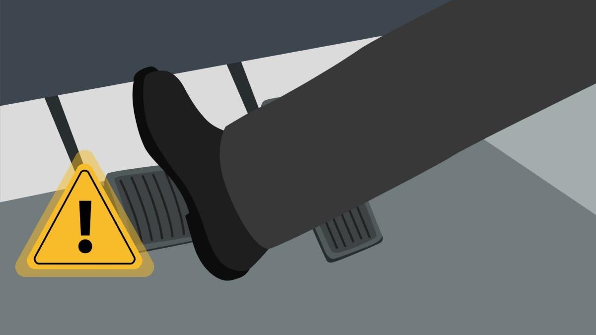 Cách xử lý khi xe mất phanh