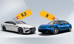 Mercedes-AMG GT 53 và Porsche Panamera - so kè coupe 4 cửa tầm giá 6 tỷ đồng