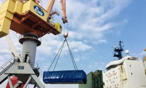 Thêm robot đào hầm dự án Metro về đến Việt Nam
