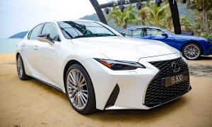 Lexus IS 2021 ra mắt tại Việt Nam, giá từ 2,13 tỷ