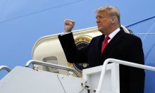 Trump muốn bắn 21 phát đại bác khi rời Nhà Trắng