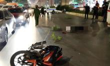 Thanh niên đi xe máy tông chết hai người sang đường
