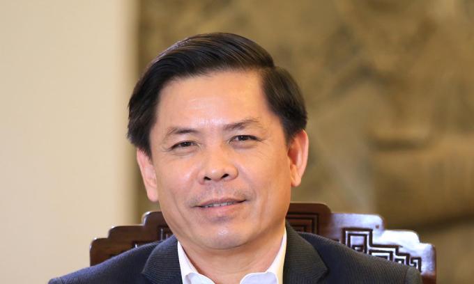 Bộ trưởng Nguyễn Văn Thể: 'Ba dự án giao thông tạo đột phá trong 5 năm tới'
