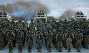 Trung Quốc tăng huấn luyện hiệp đồng quân chủng