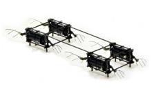 Drone giống côn trùng đập cánh 500 lần một giây