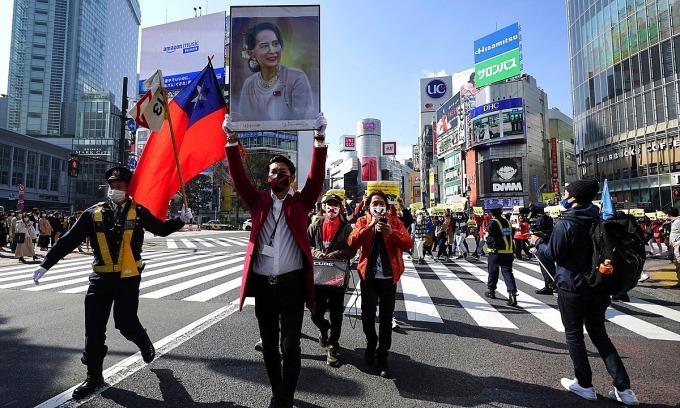 Nhật 'tiến thoái lưỡng nan' với khủng hoảng Myanmar