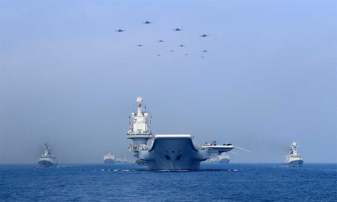 Trung Quốc tăng ngân sách quốc phòng 6,8%