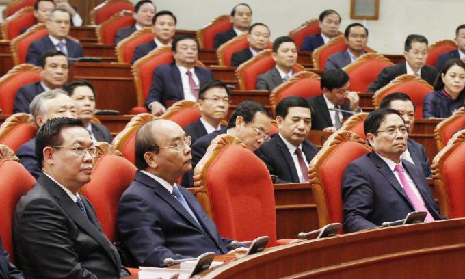 Ba chức danh lãnh đạo chủ chốt được giới thiệu với số phiếu tập trung cao