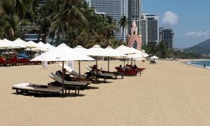 Nha Trang đề xuất miễn tiền thuê bãi biển