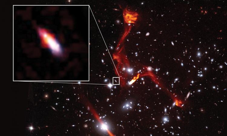 Phát hiện thiên hà cách Trái Đất 8 tỷ năm ánh sáng