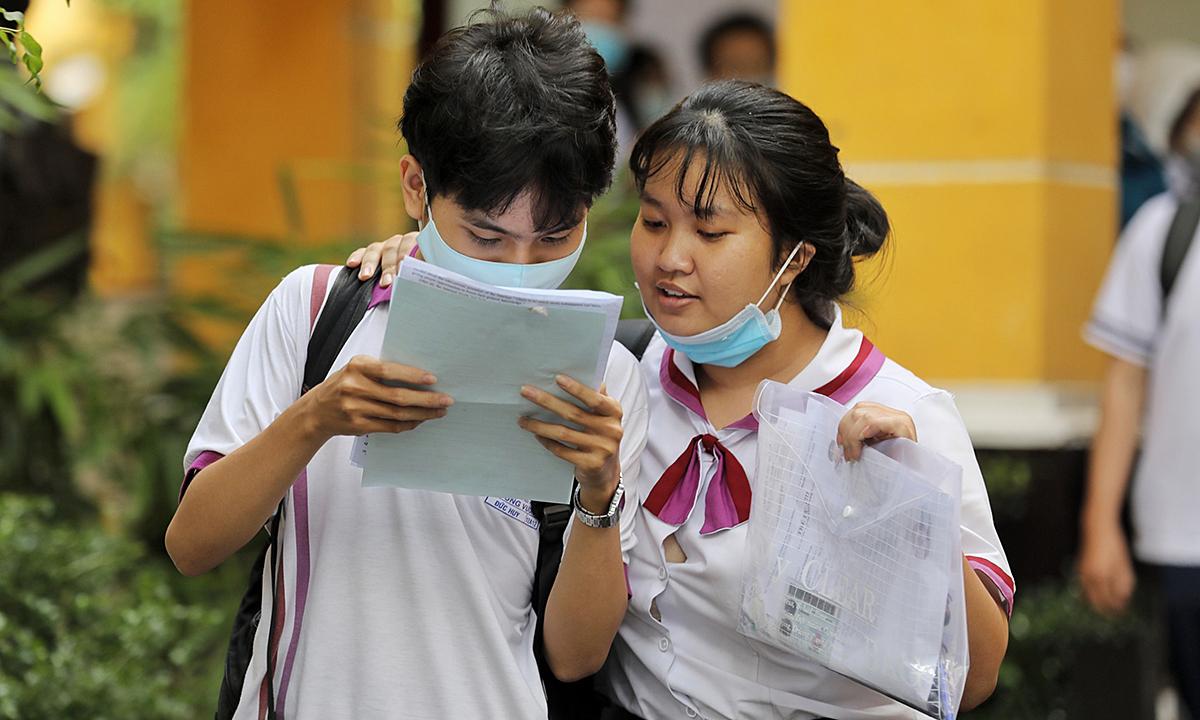 Bộ GD&ĐT công bố đề tham khảo thi tốt nghiệp THPT