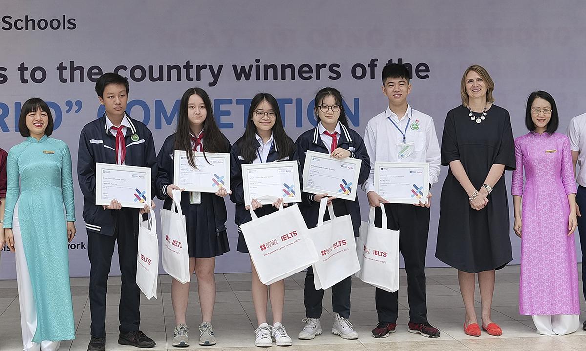 Học sinh Việt đạt điểm cao ở cuộc thi làm phim quốc tế