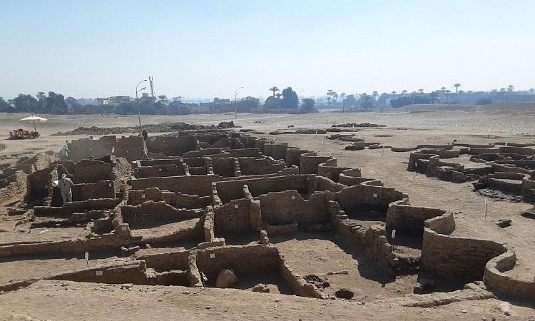 Tàn tích thành phố 3.500 năm của pharaoh Ai Cập