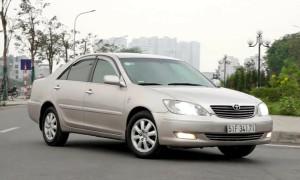 Camry 2002 giá 250 triệu đồng - xe to cho túi tiền nhỏ