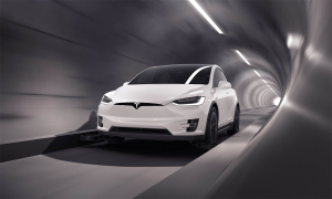 Đường chạy dưới lòng đất dành riêng cho xe Tesla