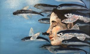 8 nữ sinh mở triển lãm tranh
