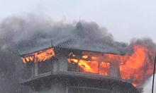 Khách sạn cháy ngùn ngụt