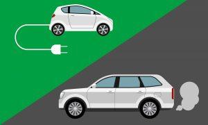 So sánh mức độ ô nhiễm của ôtô điện với xe xăng