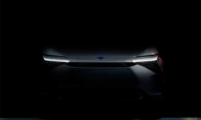Ôtô điện đầu tiên của Toyota lộ diện