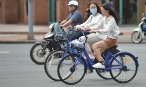 Lạc quan với xe đạp công cộng Sài Gòn