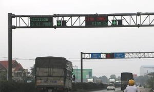 Lắp hệ thống cân xe hiện đại trên nhiều quốc lộ