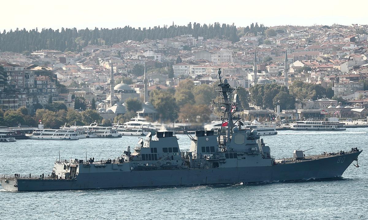 Mỹ hủy kế hoạch đưa tàu chiến đến Biển Đen