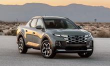 Santa Cruz - xe bán tải đầu tiên của Hyundai ra mắt