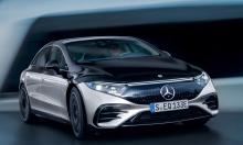 Mercedes EQS - bản chạy điện của S-class ra mắt