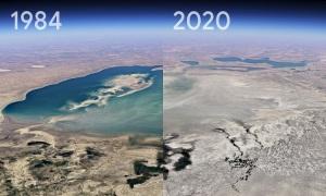 Thay đổi của Trái Đất trong gần 4 thập kỷ