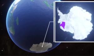 Sông băng lớn bằng nước Anh có nguy cơ sụp đổ