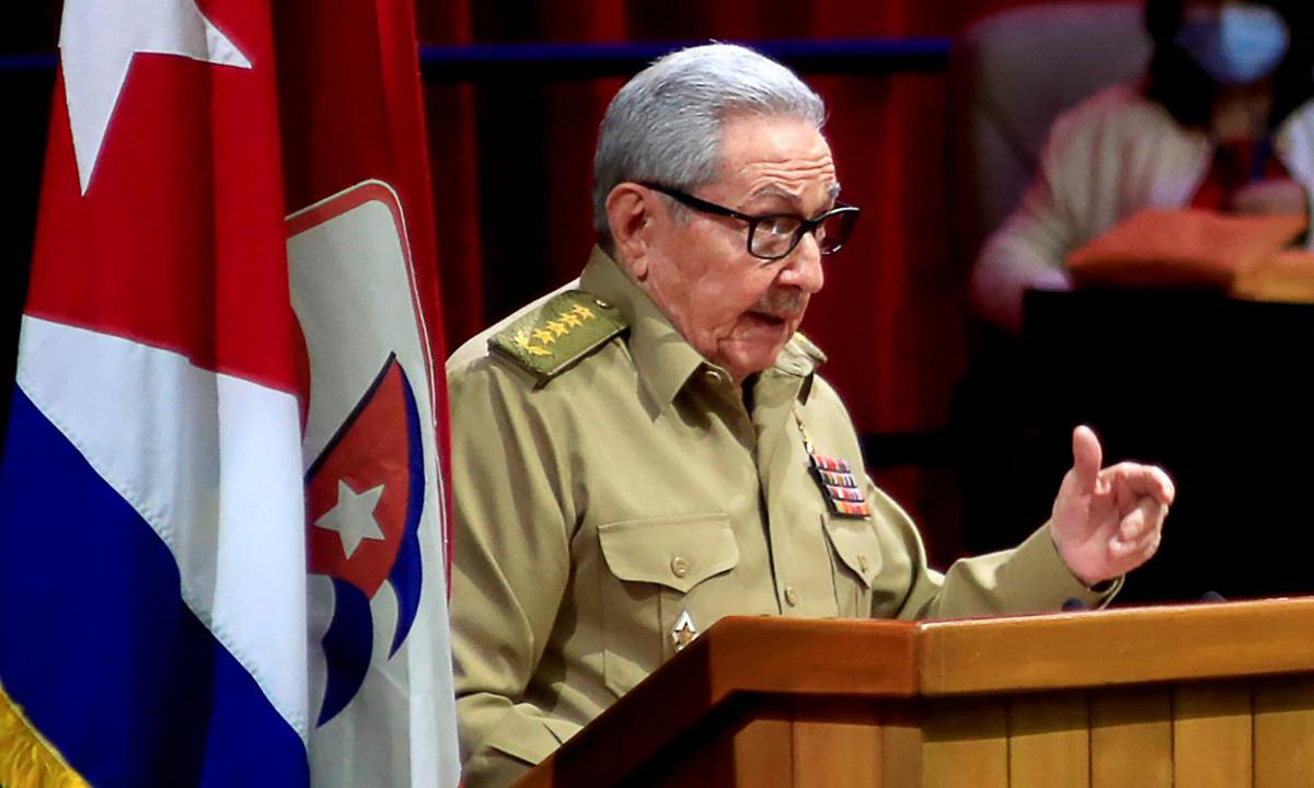 Raul Castro từ chức lãnh đạo đảng Cộng sản Cuba
