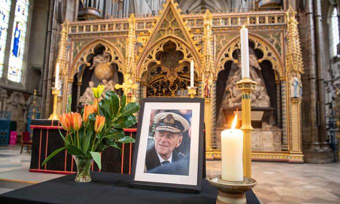 Những điều đặc biệt trong tang lễ Hoàng thân Philip hôm nay