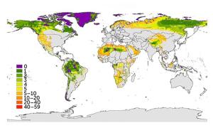 97% đất đai không còn nguyên vẹn về mặt sinh thái