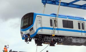 6 tàu Metro Số 1 sắp về TP HCM