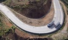 4.000 m hộ lan bằng lốp ôtô trên đèo Lò Xo