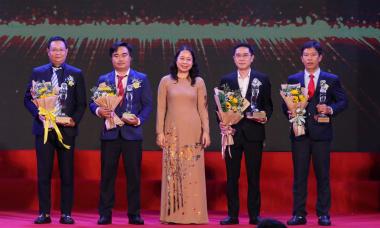 Tôn vinh 116 doanh nghiệp đạt Giải Chất lượng Quốc gia
