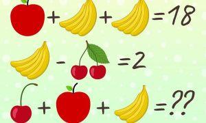 Kiểm tra IQ với 4 câu đố toán học