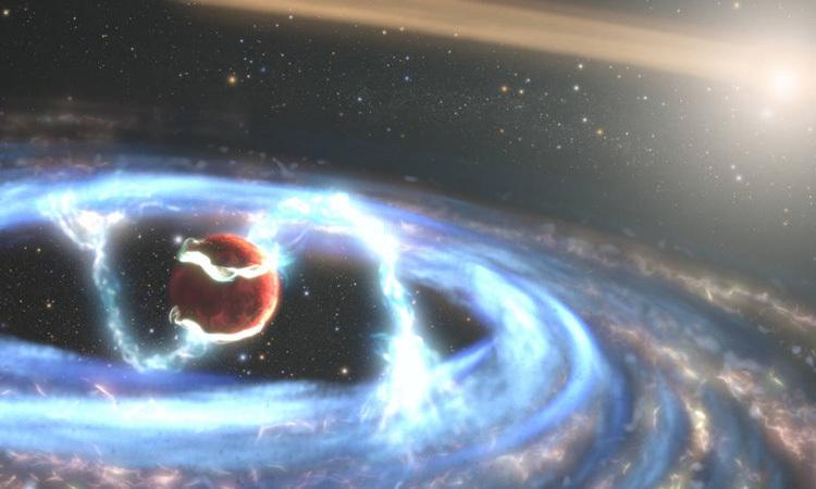 Kính Hubble chụp ảnh ngoại hành tinh trẻ nhất