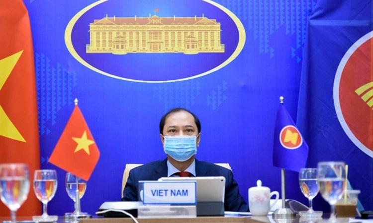 Mỹ ủng hộ lập trường của ASEAN về Biển Đông
