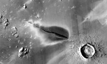 Bằng chứng về hoạt động núi lửa gần nhất trên sao Hỏa