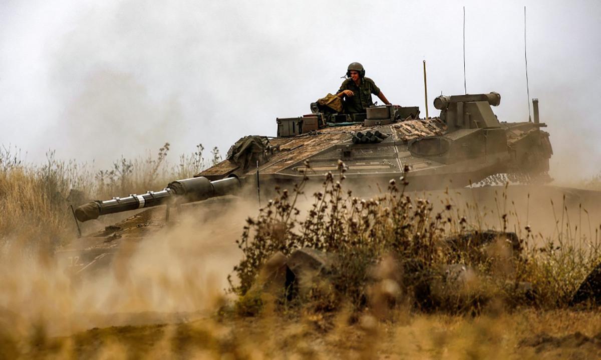 Israel lên kế hoạch đưa quân chiếm Dải Gaza